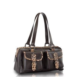Handmade Phive Rivers Brown Leather Shoulder Handbag (Italy)