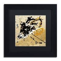 Roderick Stevens 'Dynomite' Black Matte, Black Framed Wall Art
