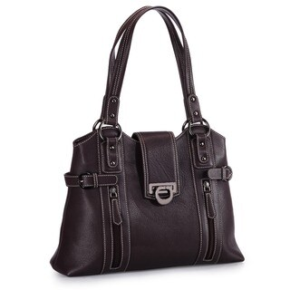 Handmade Phive Rivers Brown Leather Handbag (Italy)
