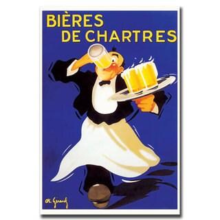 'Bieres de Chartres' Canvas Art