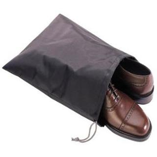 Grey Nylon Travel Shoe Bag (Set of 3)