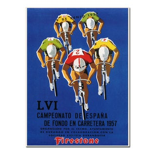 'Campeonato de Espana' Canvas Art