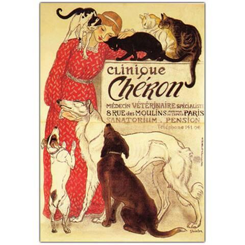'Clinique Cheron' Canvas Art