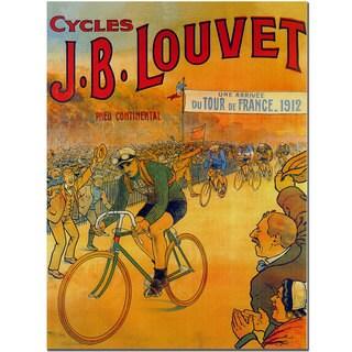 'Cycles JB Louvet' Canvas Art
