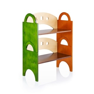 See and Store Stacking Bookshelf