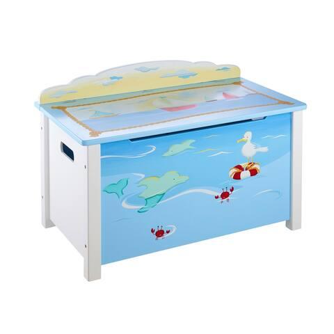 Sailing Toy Box - Blue