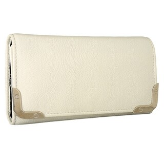 Phive Rivers White Leather Clutch (Italy)
