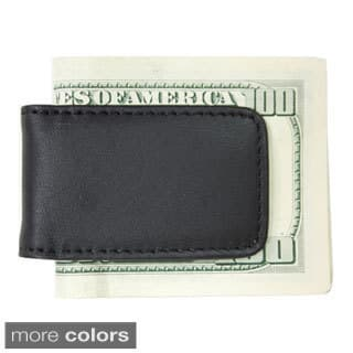 Royce Leather Magnetic Money Clip with Suede Lining|https://ak1.ostkcdn.com/images/products/10451516/P17544409.jpg?impolicy=medium