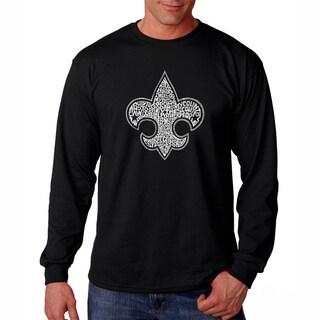Men's Los Angeles Pop Art Boy Scout Long Sleeve T-Shirt