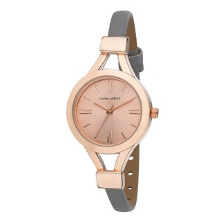 Laura Ashley Women's Thin Watch (Option: Grey/Rose Gold)