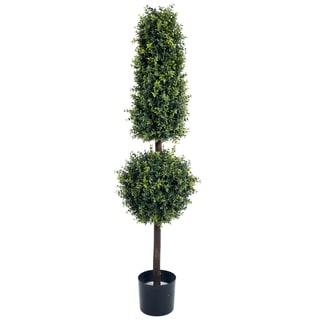 Romano 5 foot Hedyotis Topiary Artificial Tree