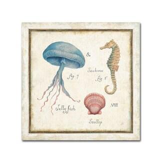 Daphne Brissonnet 'Oceanography III' Canvas Art