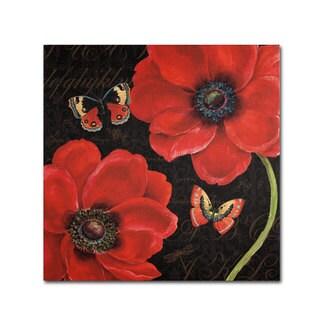 Daphne Brissonnet 'Petals and Wings III' Canvas Art