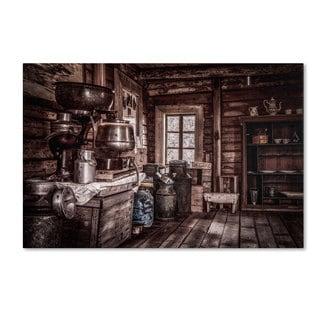 Erik Brede 'Old Farm House' Canvas Art