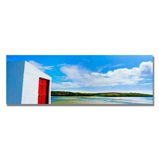 Preston 'Ireland Door' Canvas Art