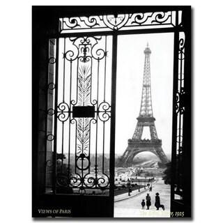Sally Gall 'Views of Paris' Canvas Art