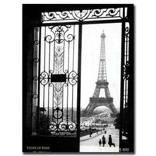 Sally Gall 'Views of Paris' Canvas Art - Multi