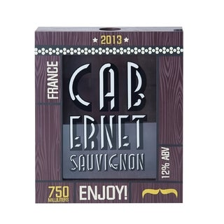 Element Cabernet Sauvignon Cork Holder Shadow Box