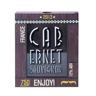 Element Cabernet Sauvignon Cork Holder Shadow Box