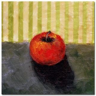 Michelle Calkins 'Red Apple Still Life' Canvas Art