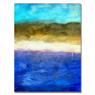 Michelle Calkins 'Abstract Dunes' Canvas Art