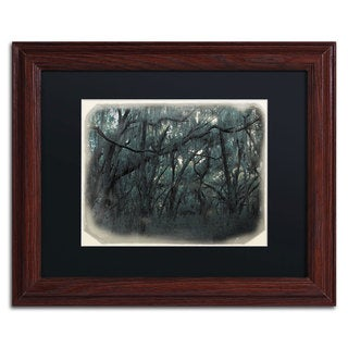 Patty Tuggle 'Forest Dreams' Black Matte, Wood Framed Wall Art