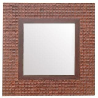 Astoria Square Brown Accent Mirror