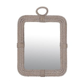 Beacon Whitewash Rectangular Mirror