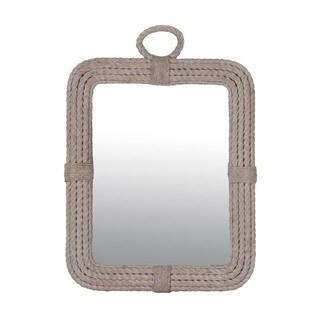 East At Main's Beacon Whitewash Rectangular Mirror