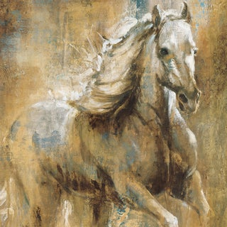 Portfolio Canvas Decor Taylor 'Boundless Beauty' 24x24 Framed Canvas Wall Art