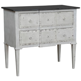Brush Rustic White Chest