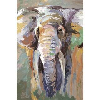 Portfolio Canvas Decor Frank Parson 'Soft Safari IV' 24x36 Framed Canvas Wall Art