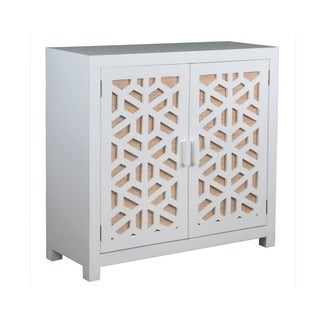 Carbondale Modern White TV Stand