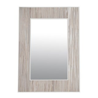 Corvallis White Square Mirror