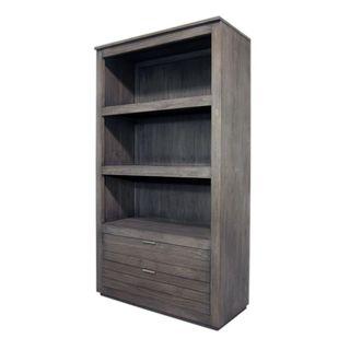 Crowley Rustic Grey Wash Display Cabinet