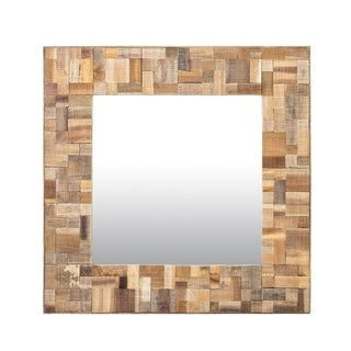Decorative Square Sutherlin Accent Mirror