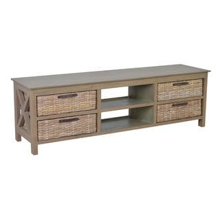 Dillon Tradititonal Grey TV Stand