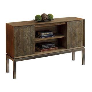 Englewood Tradititional Brown Sofa Table