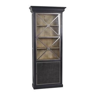 Fleming Rustic Brown Display Cabinet