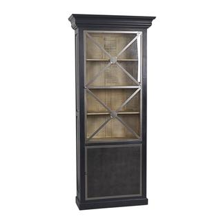 East At Main's Fleming Rustic Brown Display Cabinet
