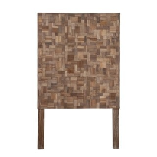 Holyoke Natural Geometric Sequoia Twin Headboard