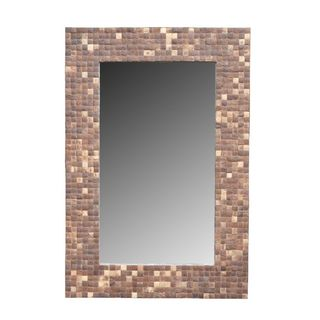 Oneonta Accent Mirror With Cocomosaic Tiles