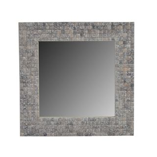 Prineville White Square Accent Mirror