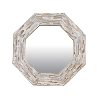 """East At Main's Small Molalla Wooden Accent Mirror - 24""""x1.6""""x24"""""""