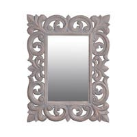 East At Main's Toledo 31-inch Grey Rectangular Vintage Accent Mirror