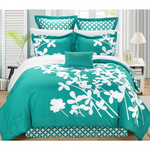 Chic Home Ayesha 11-Piece Comforter Bed in a Bag Set