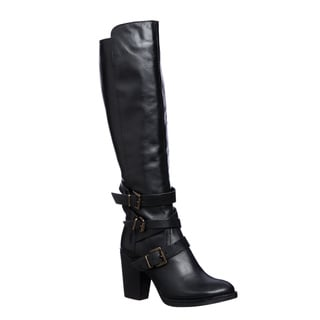 Steve Madden Women's York Stacked Heel Boot
