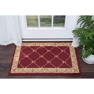 Soho Traditional Border Area Rug (2' x 3')