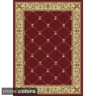 Alise Rugs Soho Traditional Border Area Rug - 8'9 x 12'3