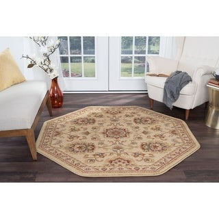 Soho Traditional Oriental Area Rug (7'10'' Octagon)